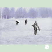 Winter-Golfer